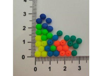 Neon KULIČKY 4 mm, více barev
