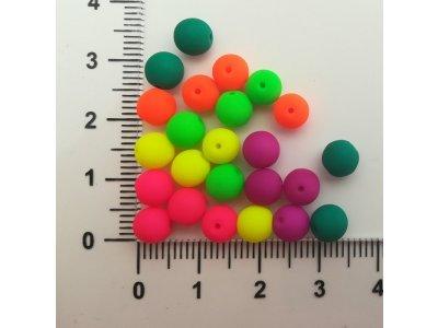 Neon KULIČKY 6 mm, více barev