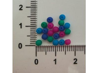Neon KULIČKY 3 mm, více barev