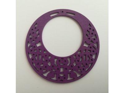 Výsek maxi pr. 80 mm - fialová