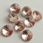 Rivoli 8 mm, broušené sklo, více barev