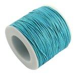 Voskovaná šňůra (bavlna) 1 mm, více barev