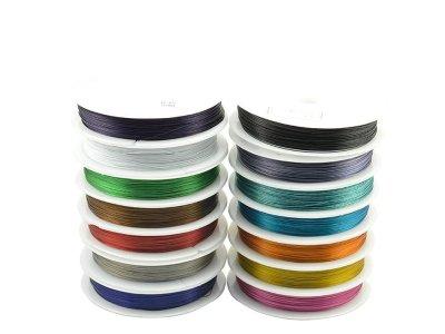 Nylonové lanko pr. 0,45 mm, více barev