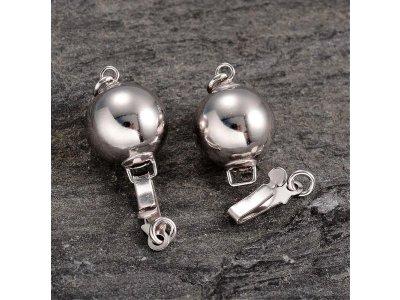 925 - zapínání kulička - stříbro