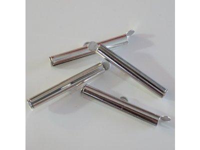 Ukončovací dutinka 30 mm, platinová