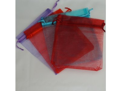 Pytlíček organzový 13x16 cm, více barev