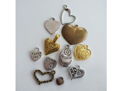 Kovové zamilované, různé