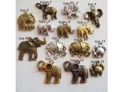 Sloni z kovu větší, více druhů