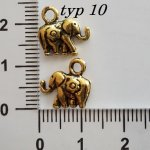 Sloni z kovu, více druhů
