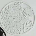 Filigrán pampeliška pr. 40 mm, více barev