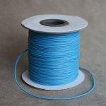 Voskovaná šňůra (polyester) 1 mm, více barev - modrá