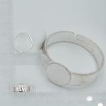Prsten s ploškou - 8 mm