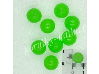 Zelené kuličky 10 mm